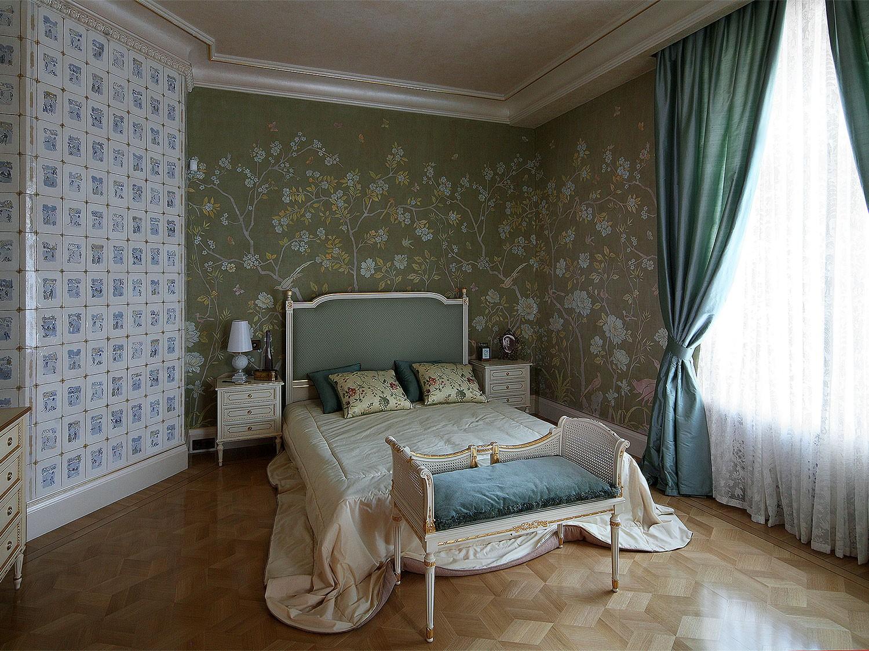 Детская спальня в зелено бирюзовой гамме