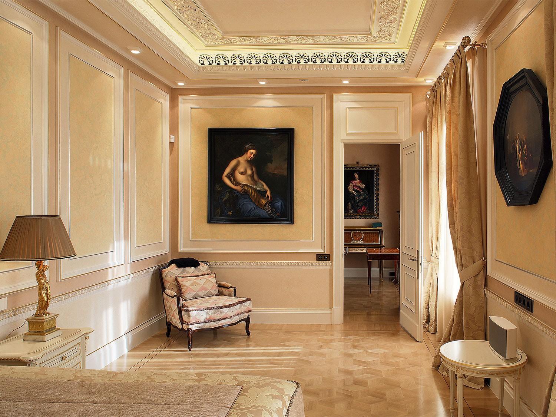 Подбор декора классическом стиле для спальни