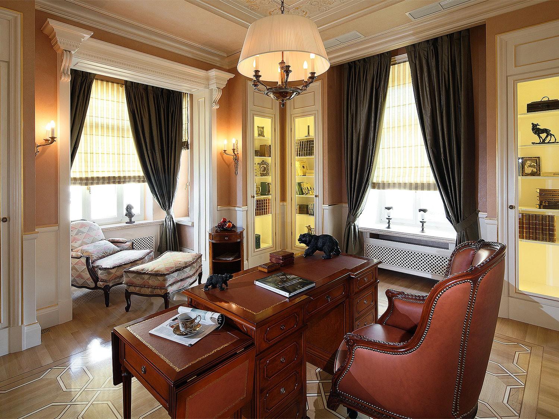 Разработка классического интерьера в квартире