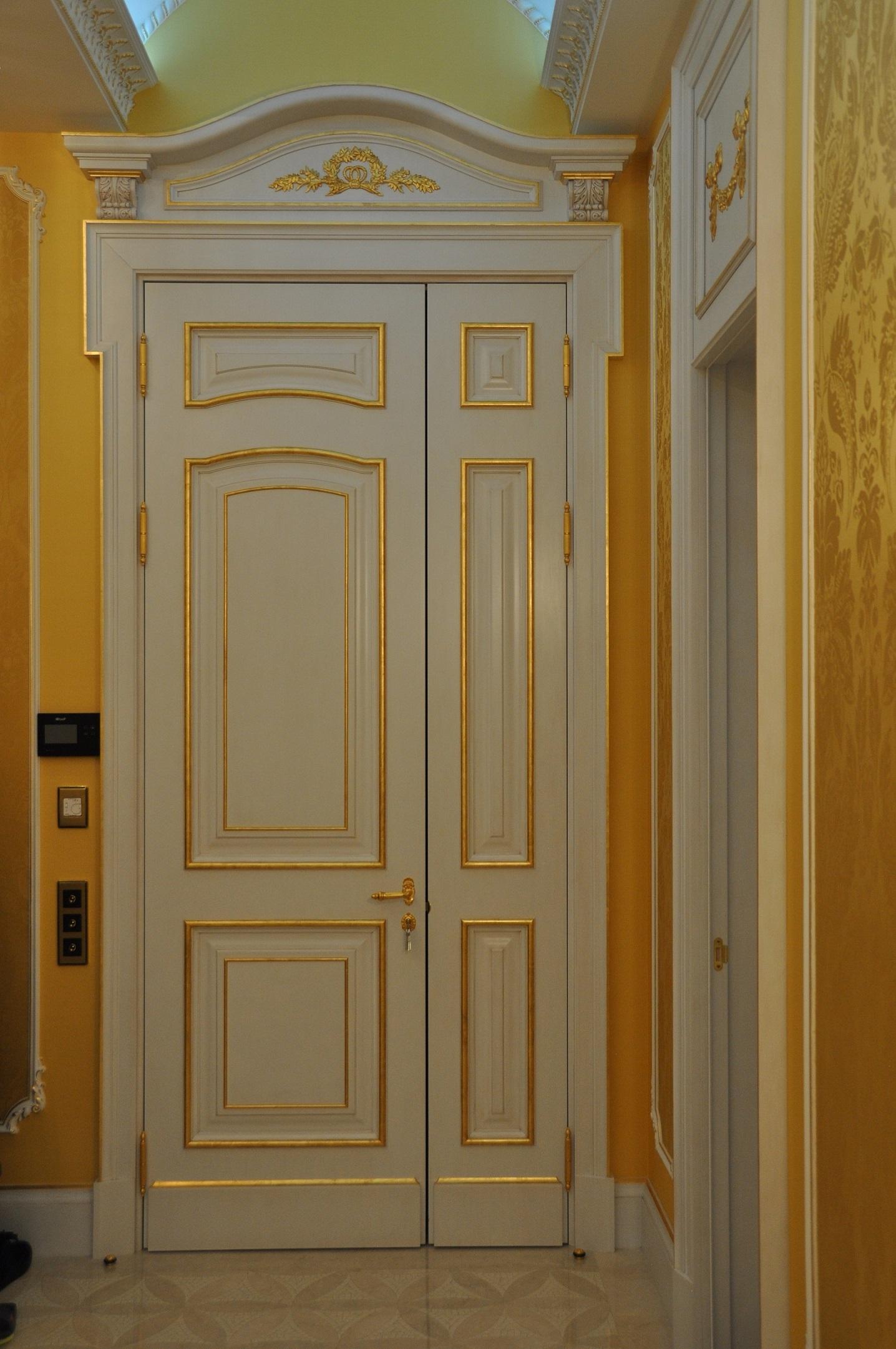 Дизайн входной двери в квартиру